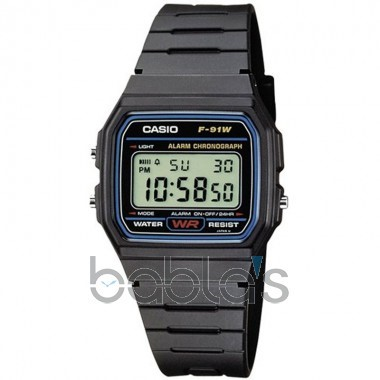 Casio Digital Watch F-91W-1YER