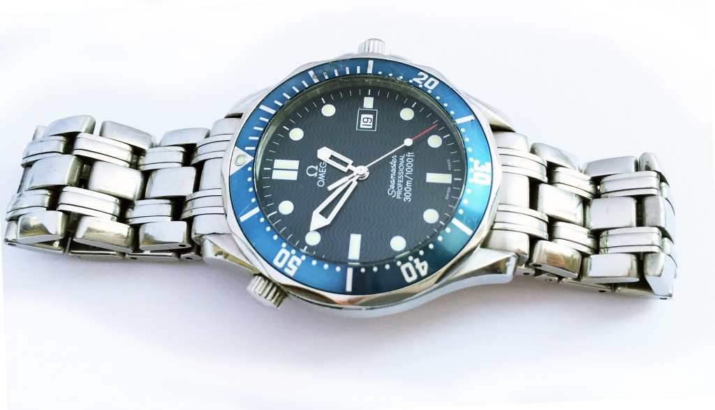 Omega seamaster battery replacement and pressure test