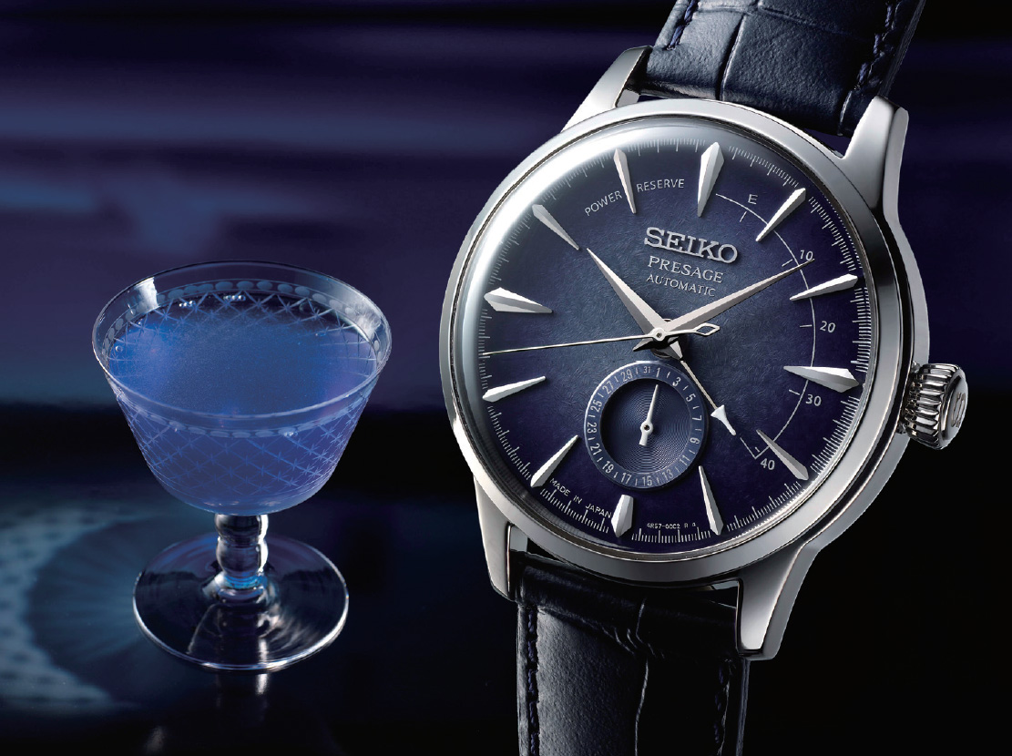 70a2b7d83ee The starlight cocktail is inspired by brilliance and mystery of the night  sky. The watch features a deep blue dial which is brought to life by the  glow of ...